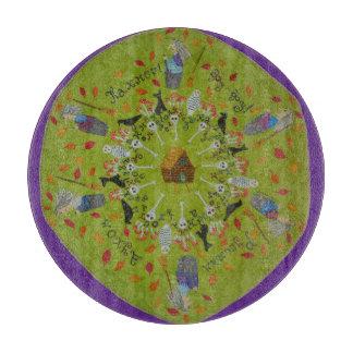 Baba Yaga Mandala Cutting Board