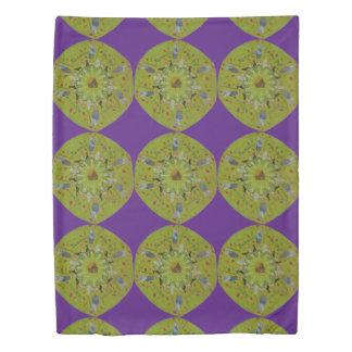 Baba Yaga Mandala Duvet Cover