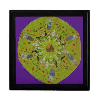 Baba Yaga Mandala Gift Box