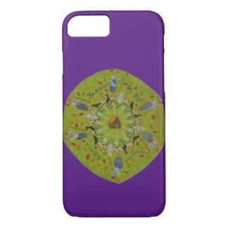 Baba Yaga Mandala iPhone 8/7 Case