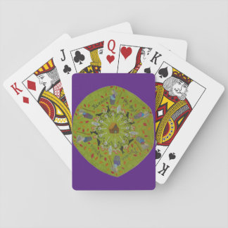 Baba Yaga Mandala Playing Cards