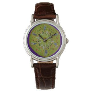 Baba Yaga Mandala Watch