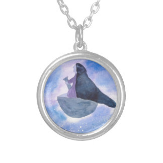 Baba Yaga Silver Plated Necklace