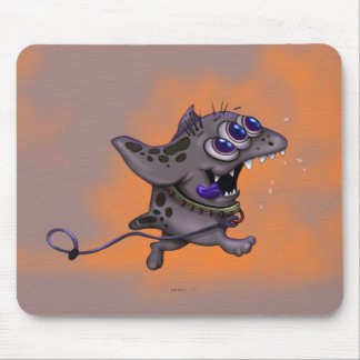 BABABA ALIEN MONSTER CARTOON MOUSE PAD