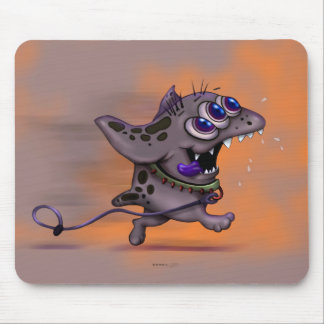 BABABA CUTE ALIEN MONSTER MOUSE PAD