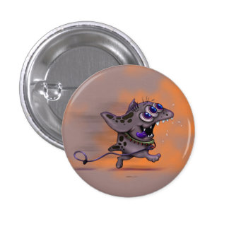 BABABA CUTE DOGGY ALIEN MONSTER SMALL BUTTON 2