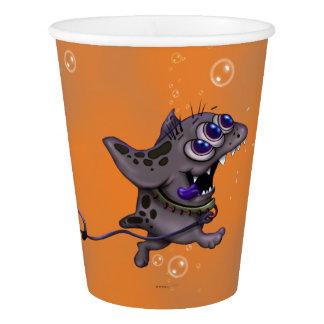 BABABA MONSTER ALIEN CARTOON PAPER CUP