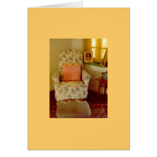 Baba's Chair Card