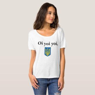 Baba's Ukrainian Oi Yoi Yoi Tryzub TShirt