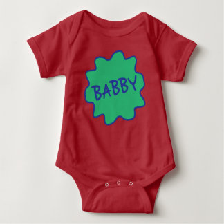 Babby, Manchester Slang Baby Babygrow Baby Bodysuit