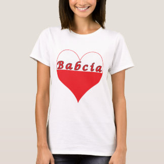 Babcia Polish Heart T-Shirt