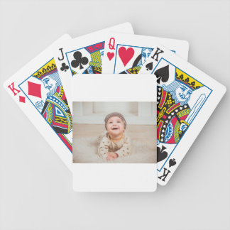 babe bicycle playing cards