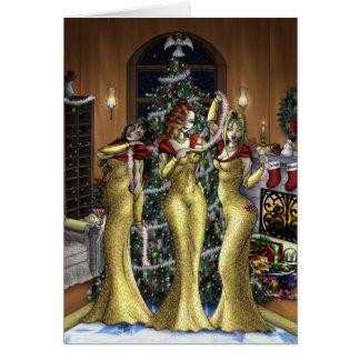 Babe Christmas Greeting Card