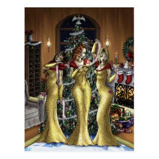 Babe Christmas Postcard