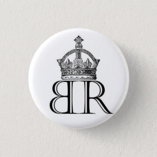 Babe Ruthless Crown Logo Button