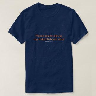 Babel Fish - A MisterP Shirt