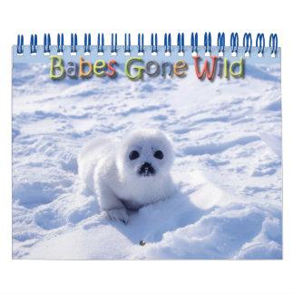 Babes Gone Wild/Wild Baby Animals Calendar