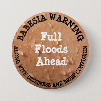 Babesia Humor Button
