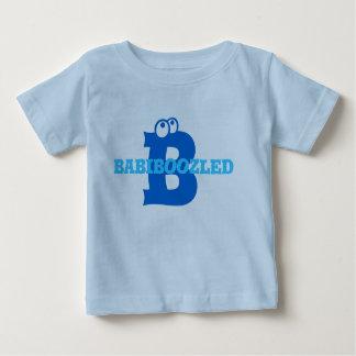 Babiboozled Toddlers T-Shirt- Lt Blue/Blue Baby T-Shirt