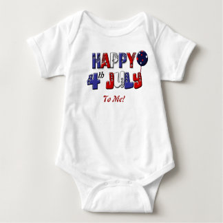 Babies first 4th of July Independenece day Baby Bodysuit
