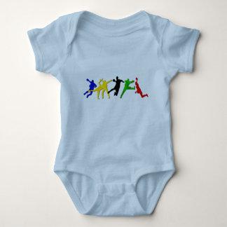 Babies handball bodies baby bodysuit