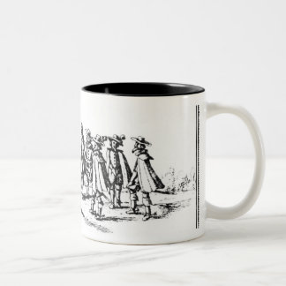 Babington and his Accomplices Two-Tone Coffee Mug