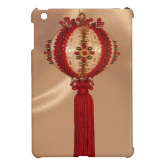 Babiole accrochante rouge coque iPad mini
