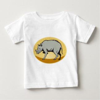 babirusa wild pig boar hog attack baby T-Shirt
