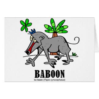 Baboon by Lorenzo Card
