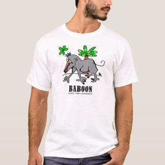 Baboon by Lorenzo T-Shirt