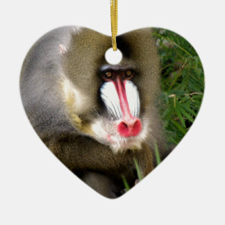 BABOON CERAMIC ORNAMENT