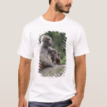 Baboon mother nursing her young T-Shirt