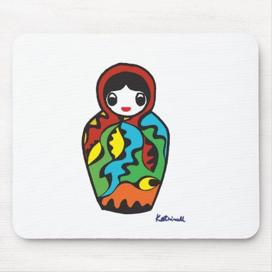 Babushka - Matryoshka Mouse Pad