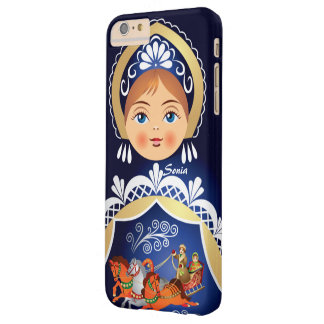 Babushka Matryoshka Russian Doll Barely There iPhone 6 Plus Case
