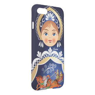 Babushka Matryoshka  Russian Doll iPhone 8/7 Case