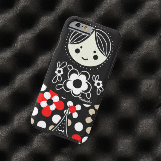 Babushka Matryoshka  Russian Doll Tough iPhone 6 Case