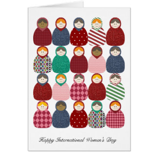 Babushka - Women's Day Card