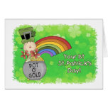 Baby 1st St. Patricks Day Greeting Cards