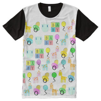 Baby 4 Life all over/Adult Baby tee/ABDL all over