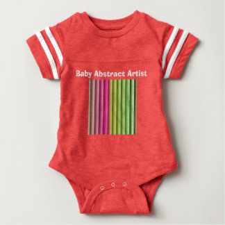 Baby Abstract Artist Baby Bodysuit