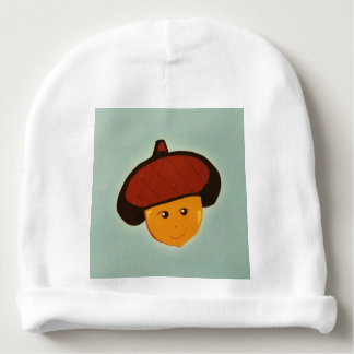 Baby Acorn Baby Beanie Hat