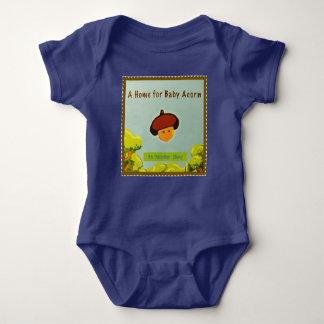 Baby Acorn Bodysuit (addt'l styles & colors)