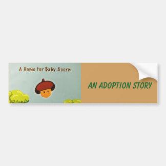 Baby Acorn bumper sticker
