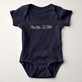 Baby Acts 2:38 Baby Bodysuit
