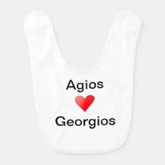 Baby Agios Georgios Bib