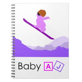 Baby AJ Boarder Note Books