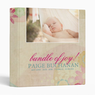 Baby Album Vinyl Binder