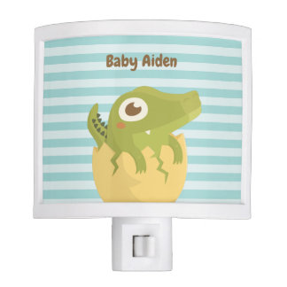 Baby Alligator Just Hatched Nursery Night Light