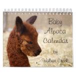 Baby Alpaca Calendar
