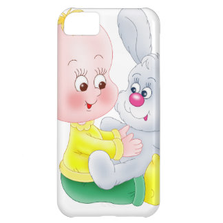 Baby and bunny case for iPhone 5C